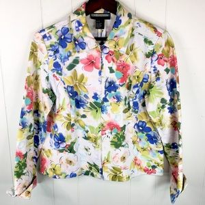 Requirements Vibrant Floral Business Jacket